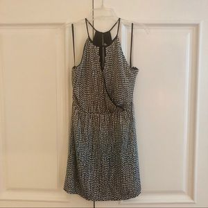 NWT Silver sequin & beaded dress